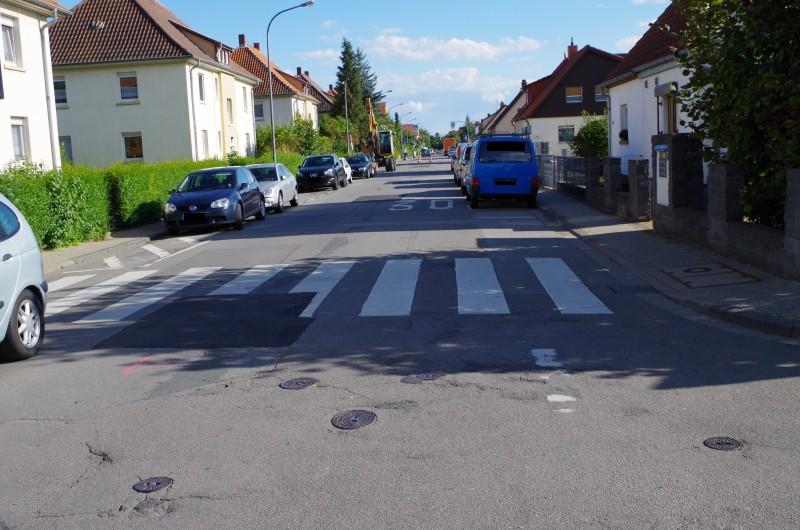 Fahrbahnsanierung Kranichweg