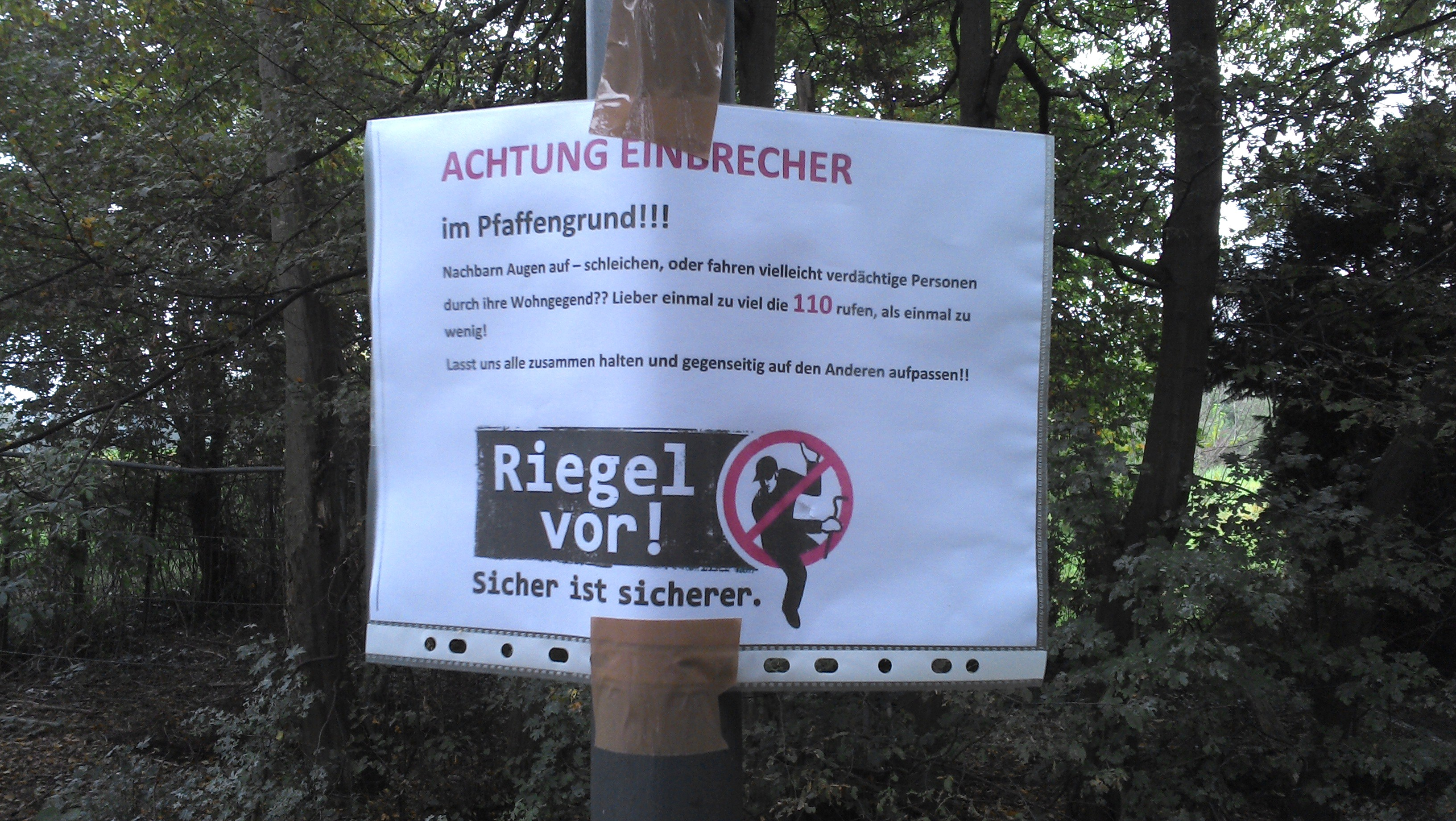 Achtung Bürgerwehr!